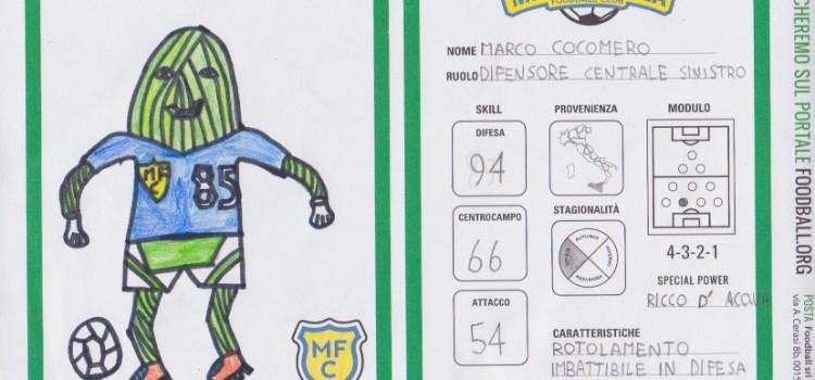 IL FOODBALL PLAYER DI NICCOLO': MARCO COCOMERO